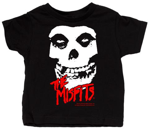 Misfits lapsetti-taapero t-paitaa - paitaa Skull
